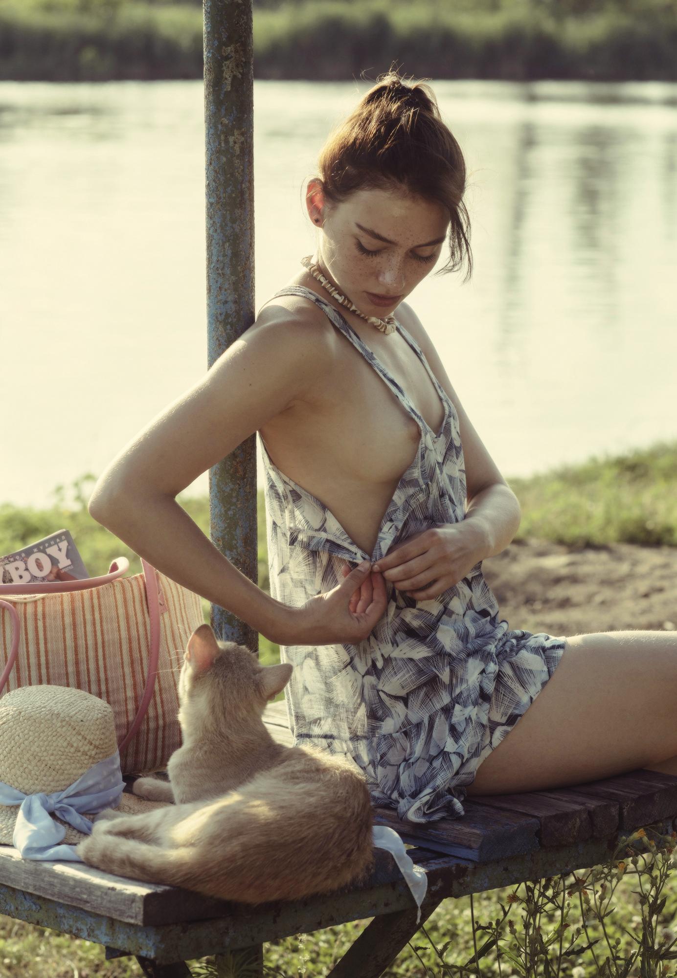 Отдых на пляже / фотограф Давид Дубницкий