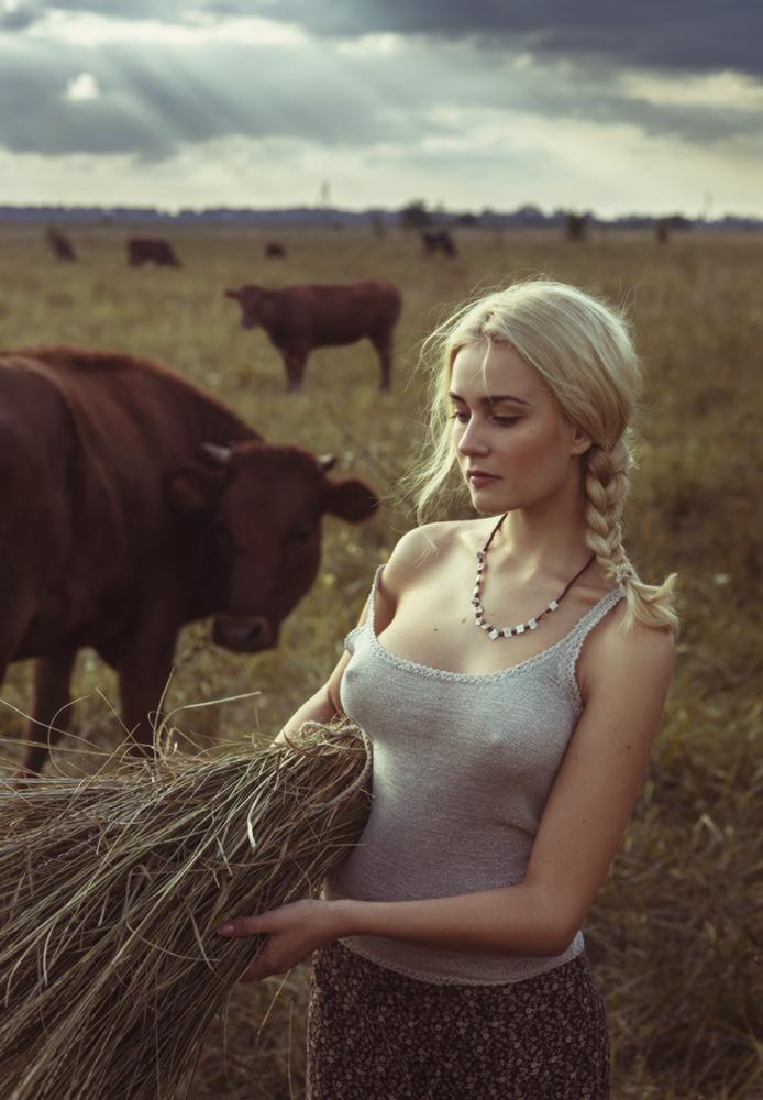 Хорошо в деревне летом / фотограф Давид Дубницкий