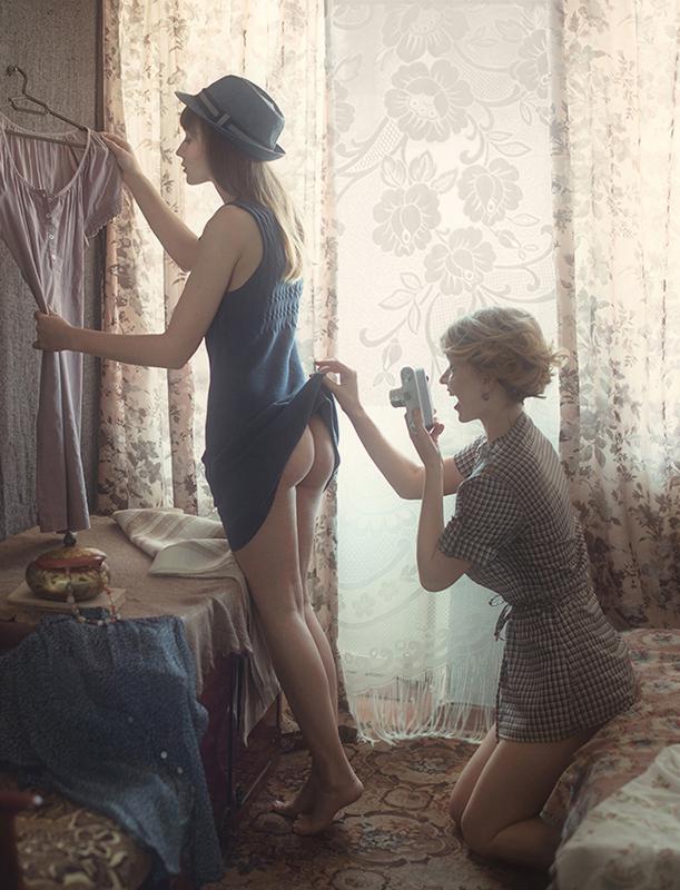 Когда подруга фотограф / фотограф Давид Дубницкий