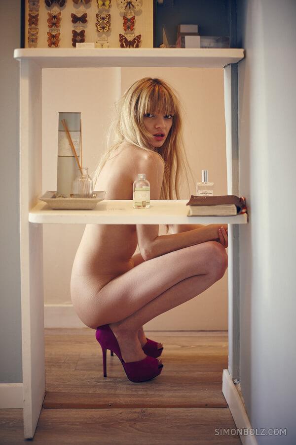 Pauline Baly / фотограф Simon Bolz