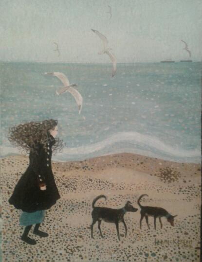 Прогулки с художницей Di Nickerson