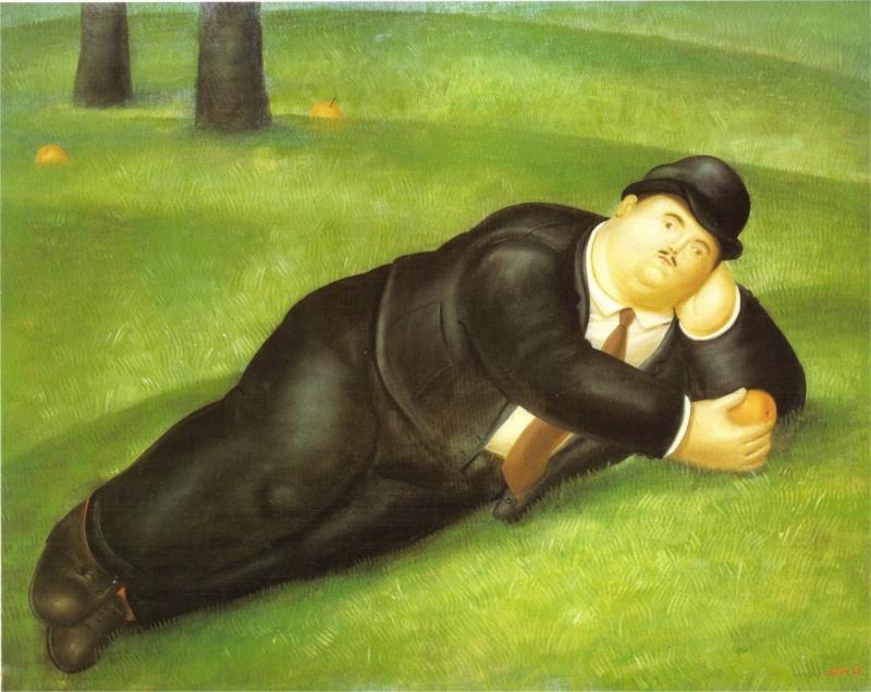 художник Fernando Botero Angulo