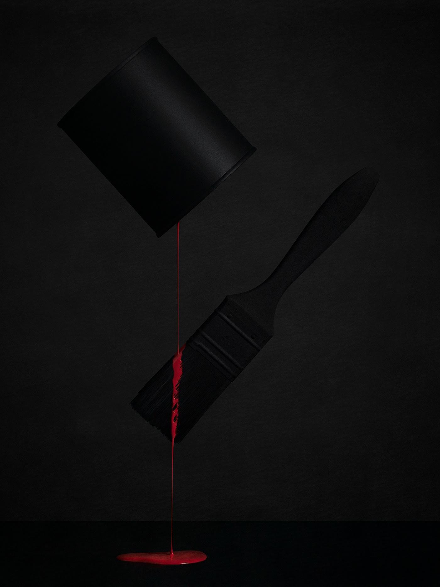 Red Paint / работа Robert Peek