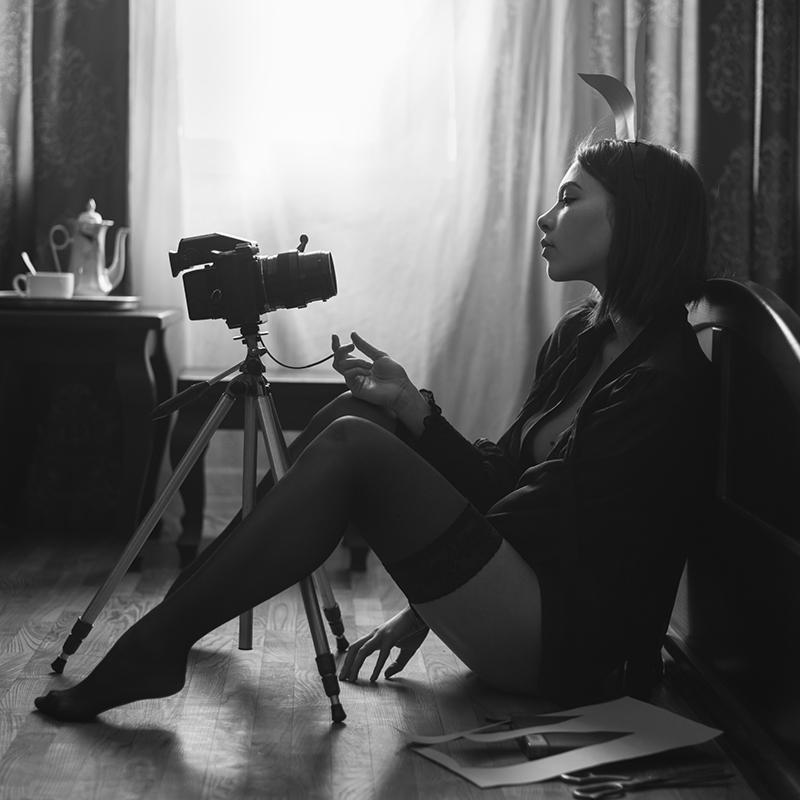 Селфи / фотограф Давид Дубницкий