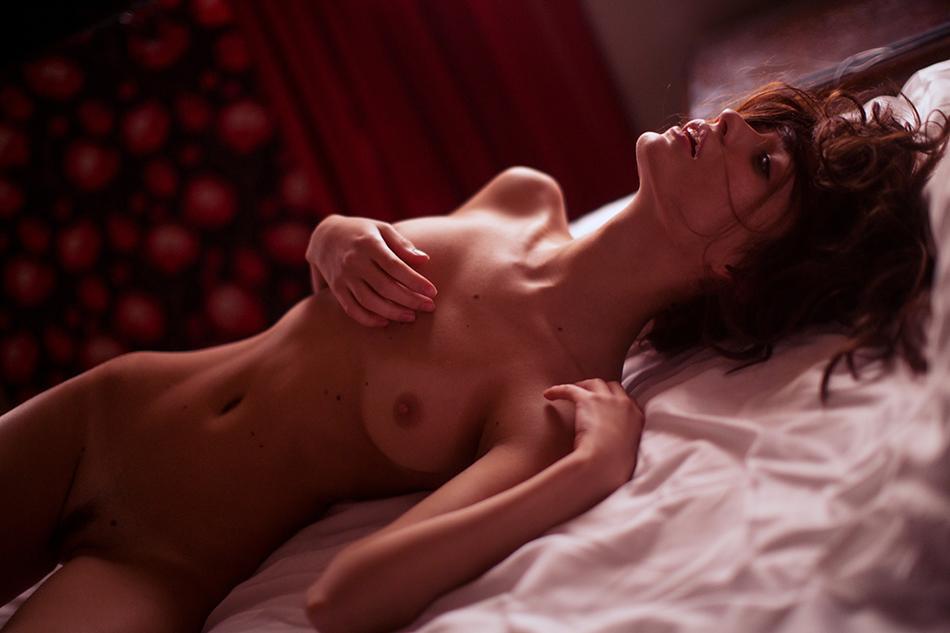 Красно-фиолетовый закат / фотограф Дмитрий Чапала