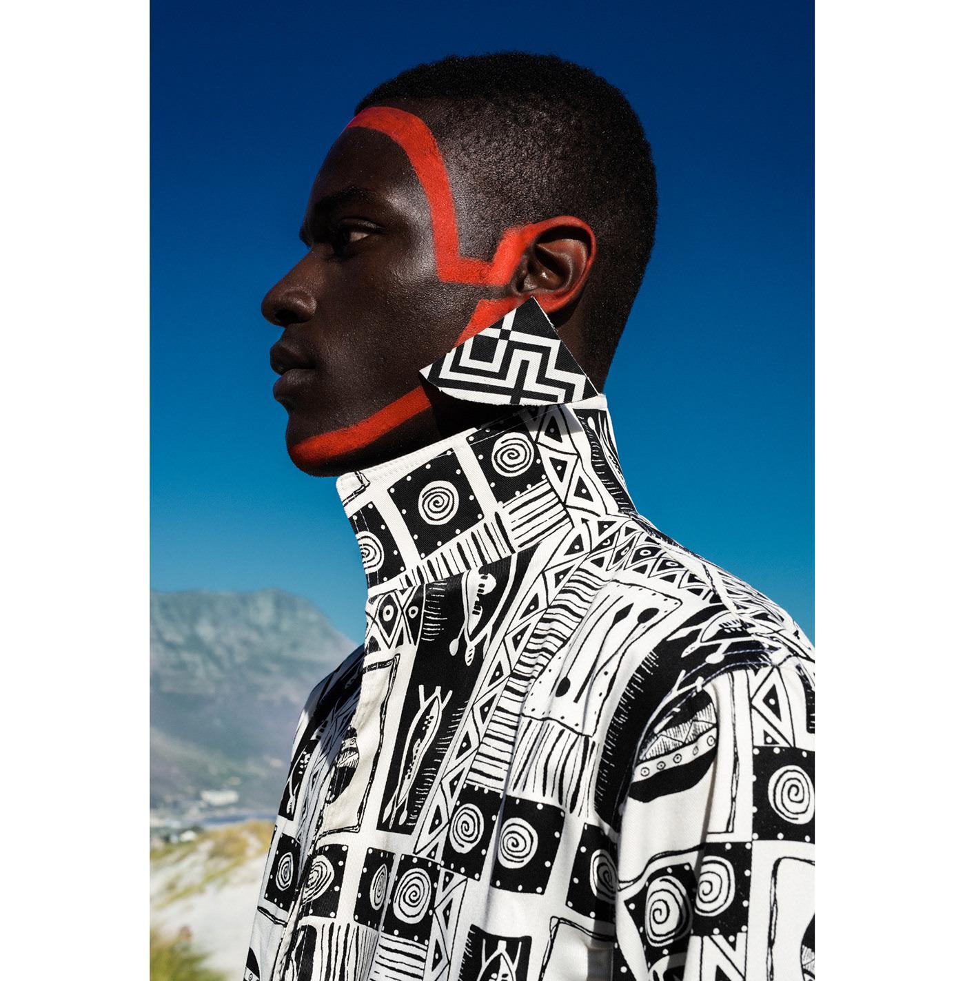 Imprint ZA SS20 x Africa Is Now magazine / фотограф Elena Iv-skaya