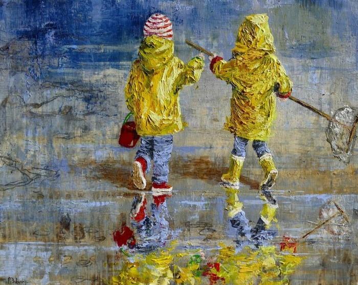Французский художник Patricia Debuchy