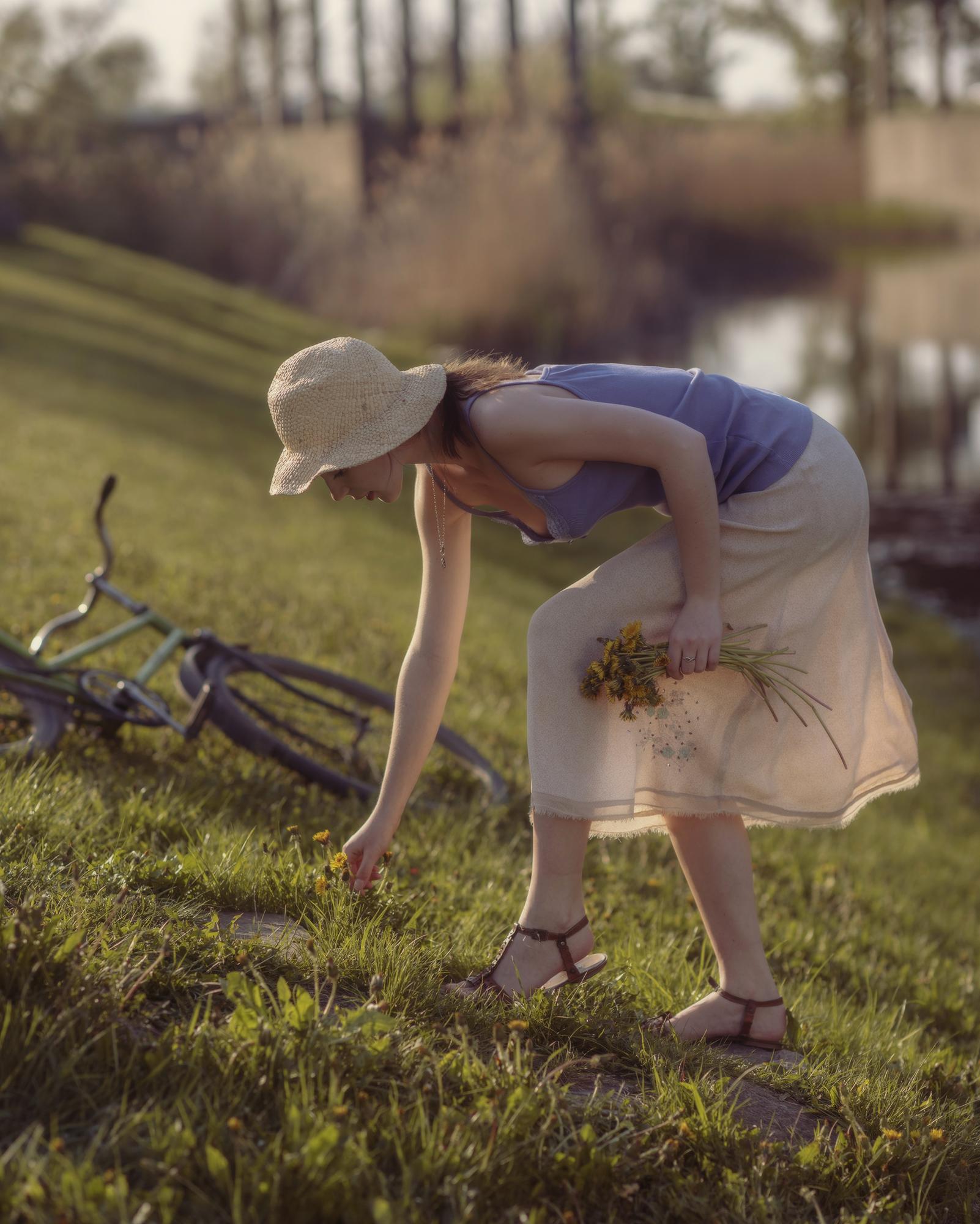 А потом она расцвела / фотограф Давид Дубницкий