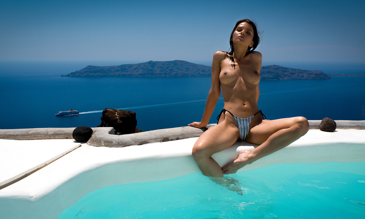 Blue / Model Kristina Makarova фотограф Vladimir Nikolaev