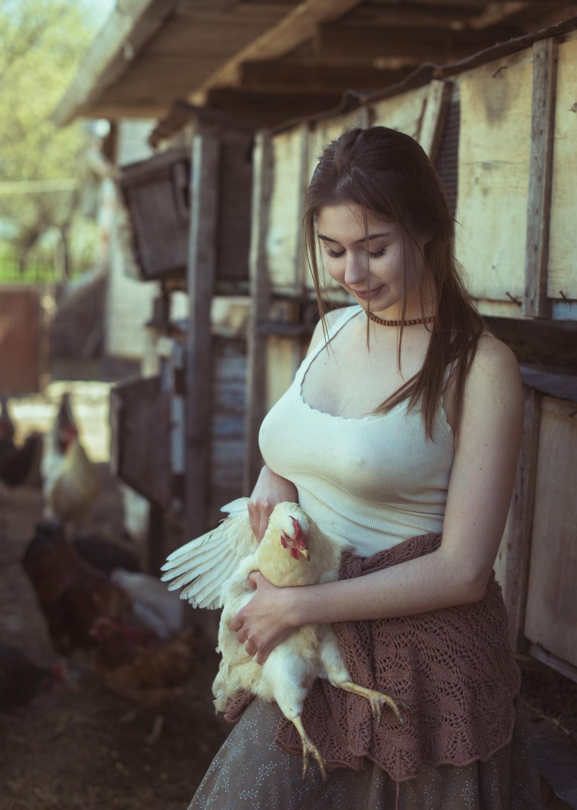 Деревенская жизнь / фотограф Давид Дубницкий