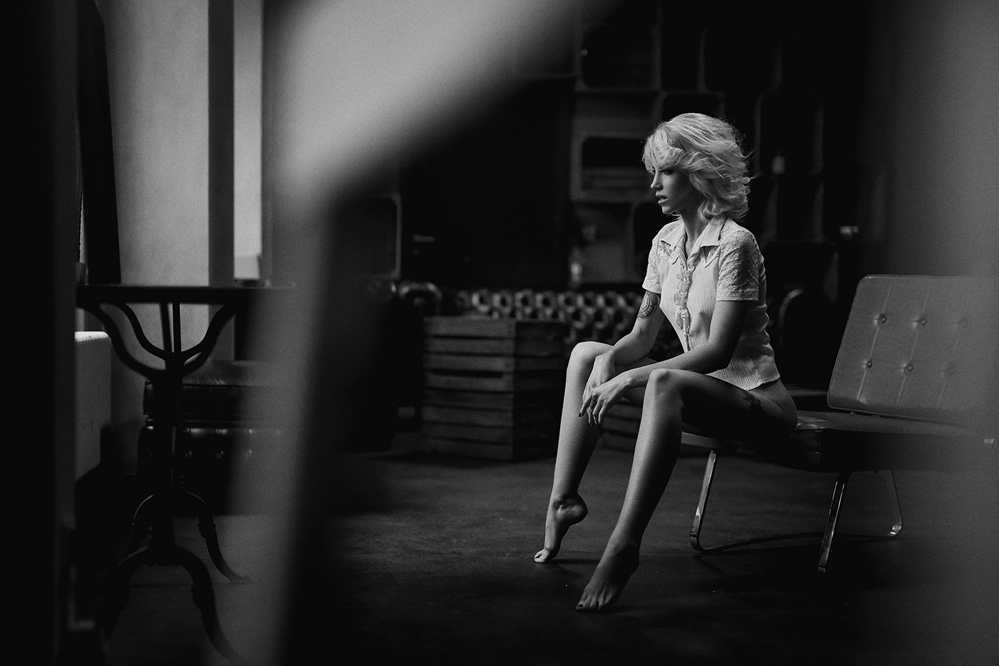 Svenja for VOLO magazin / фотограф Alex Heitz