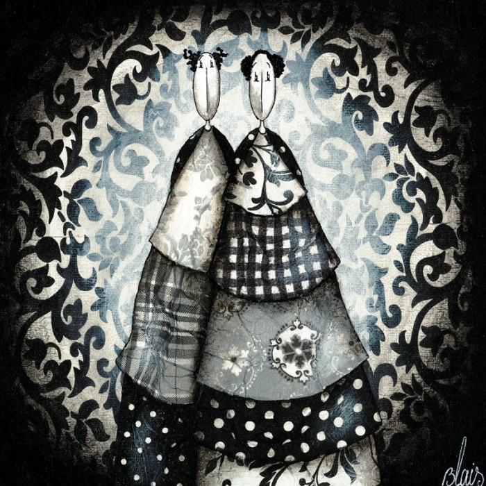картины Delphine Blais