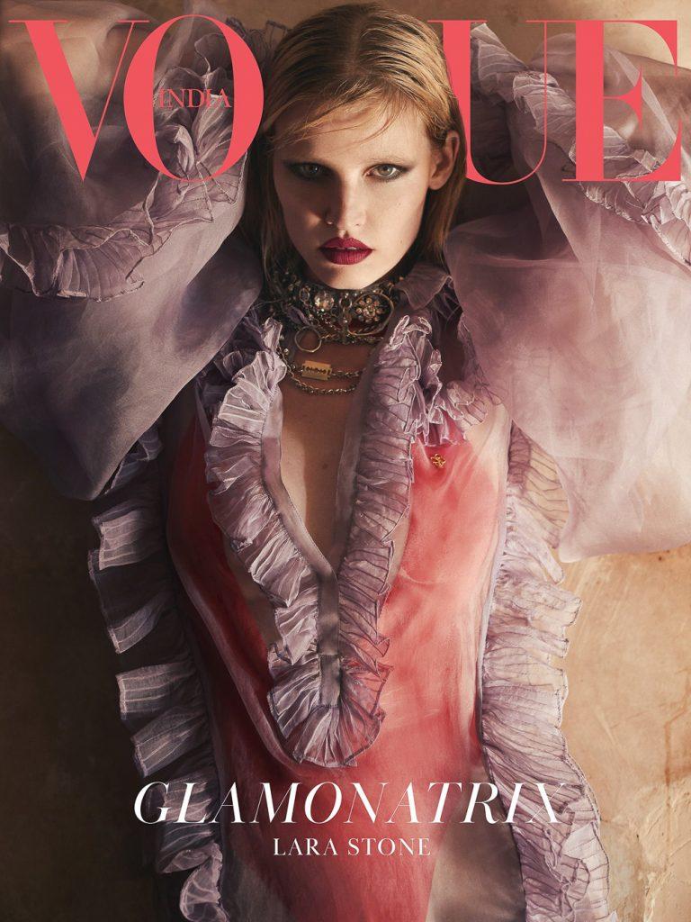 Greg Swales Vogue India Lara Stone