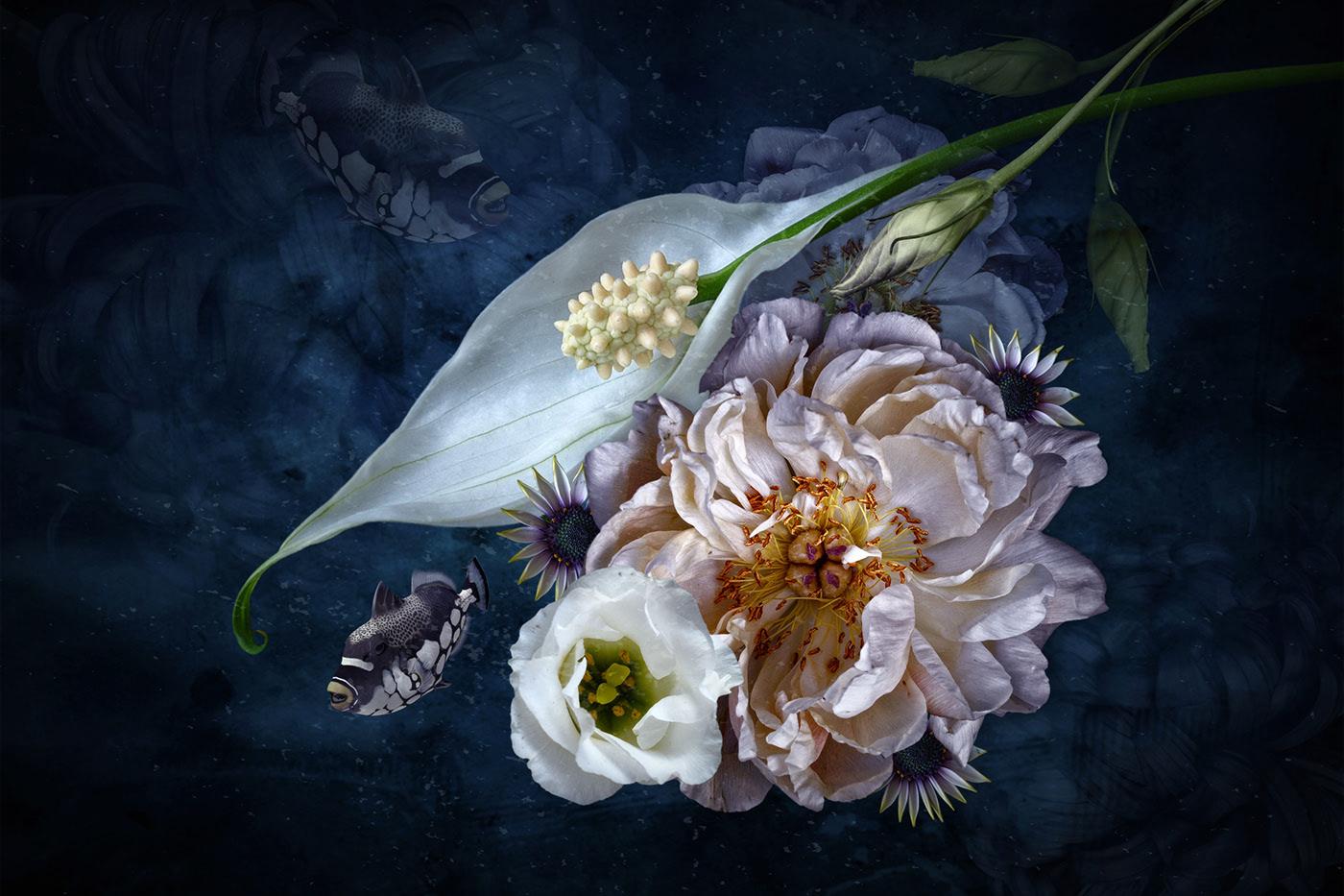 Sea of Flowers / работа Bettina Güber