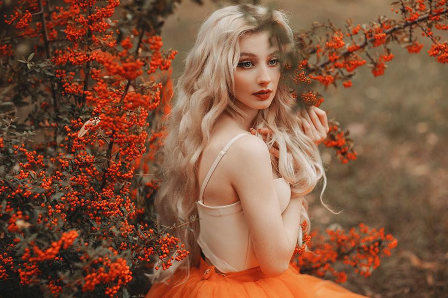 Fall Princess / фотограф Jovana Rikalo