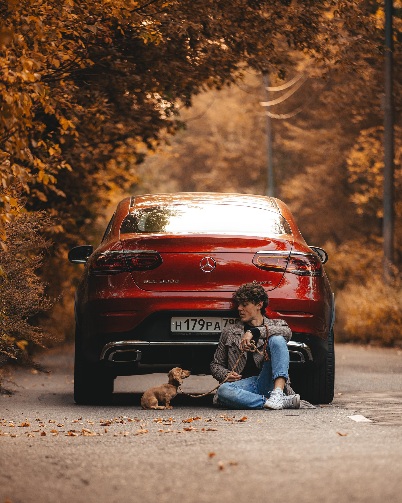 Mercedes-Benz GLC Coupe 300d / фотограф Alex Lygin