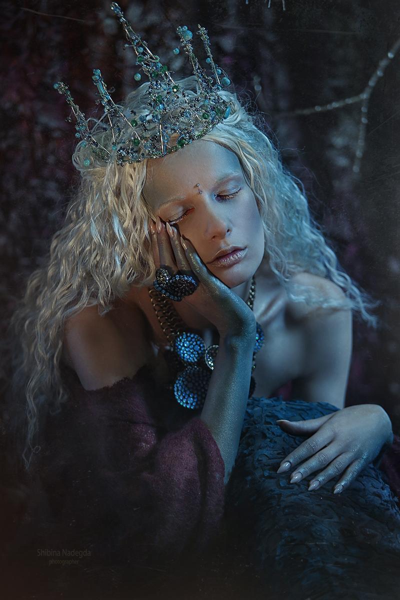 Сирена / Модель Алиса Лисс Фотограф-дизайнер Надежда Шибина