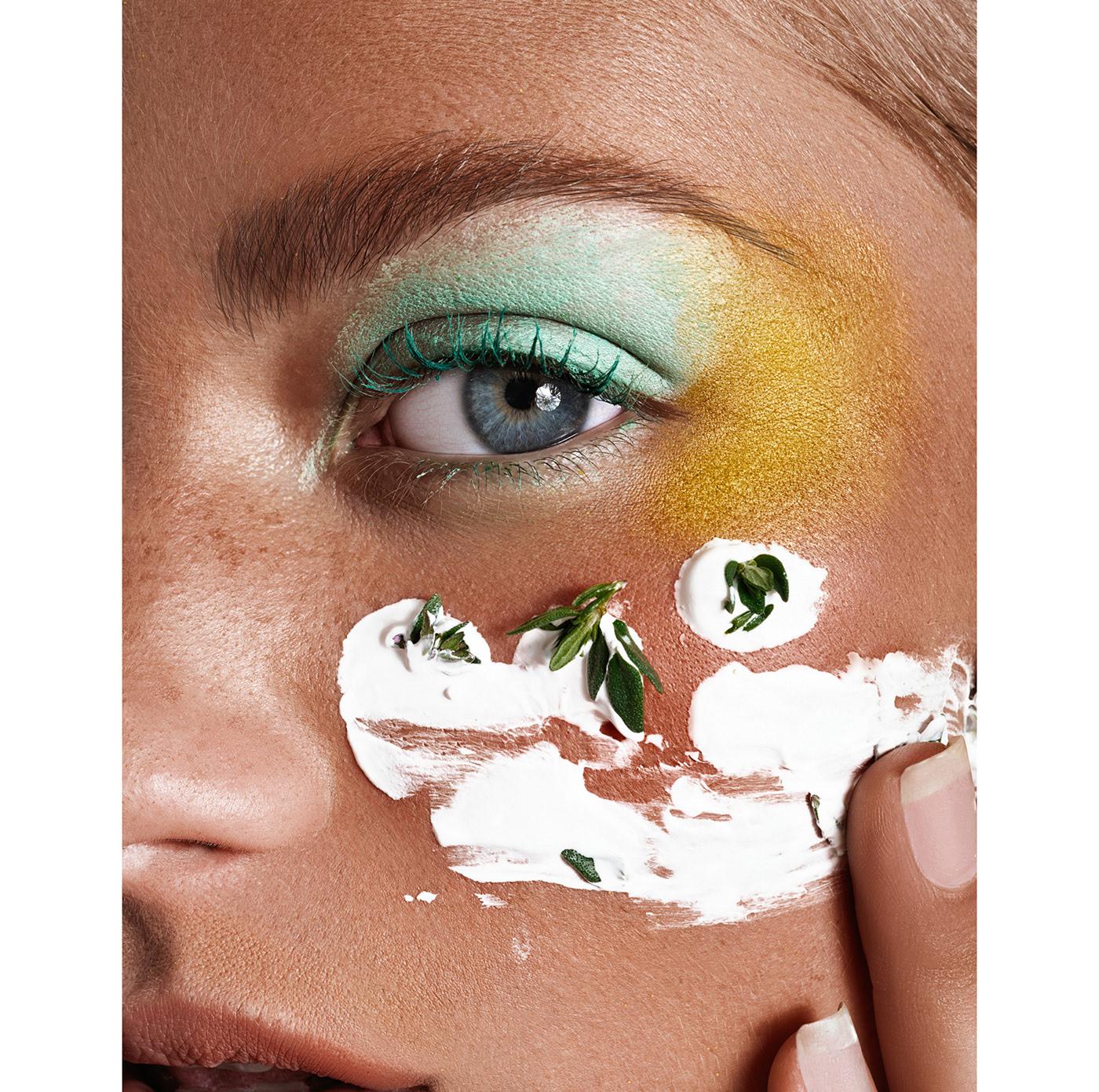 Green Beauty / фотограф Elena Iv-skaya Model Sarah Akrour