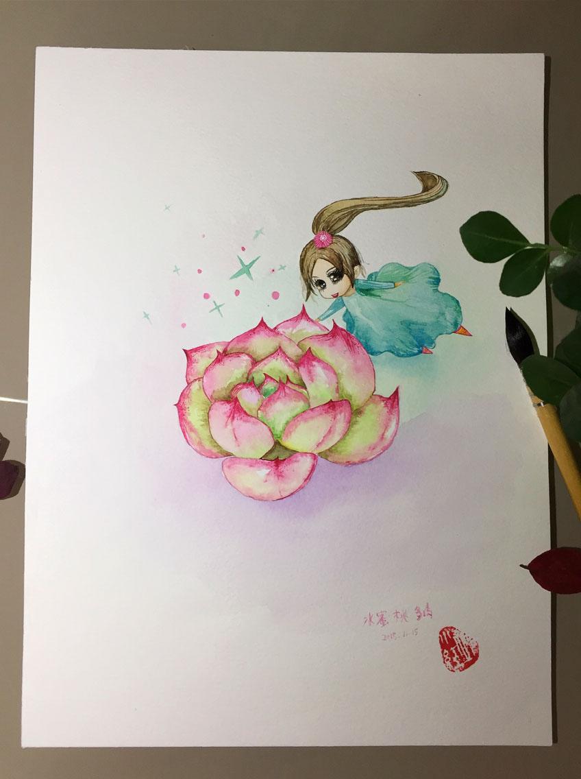 Акварель / рисунки Ava _
