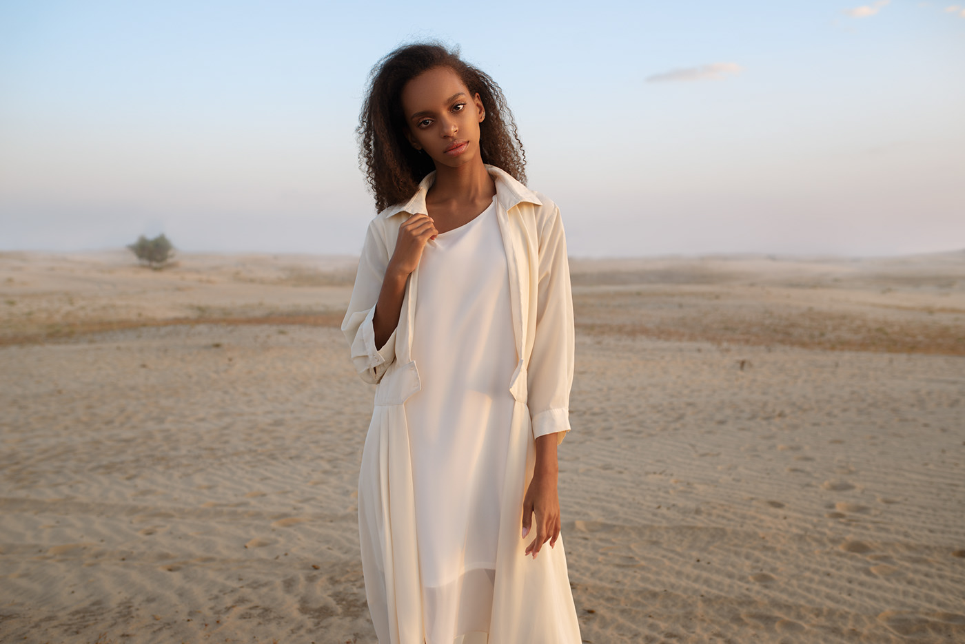 Где-то в пустыне Somewhere in the desert / Maks Kuzin