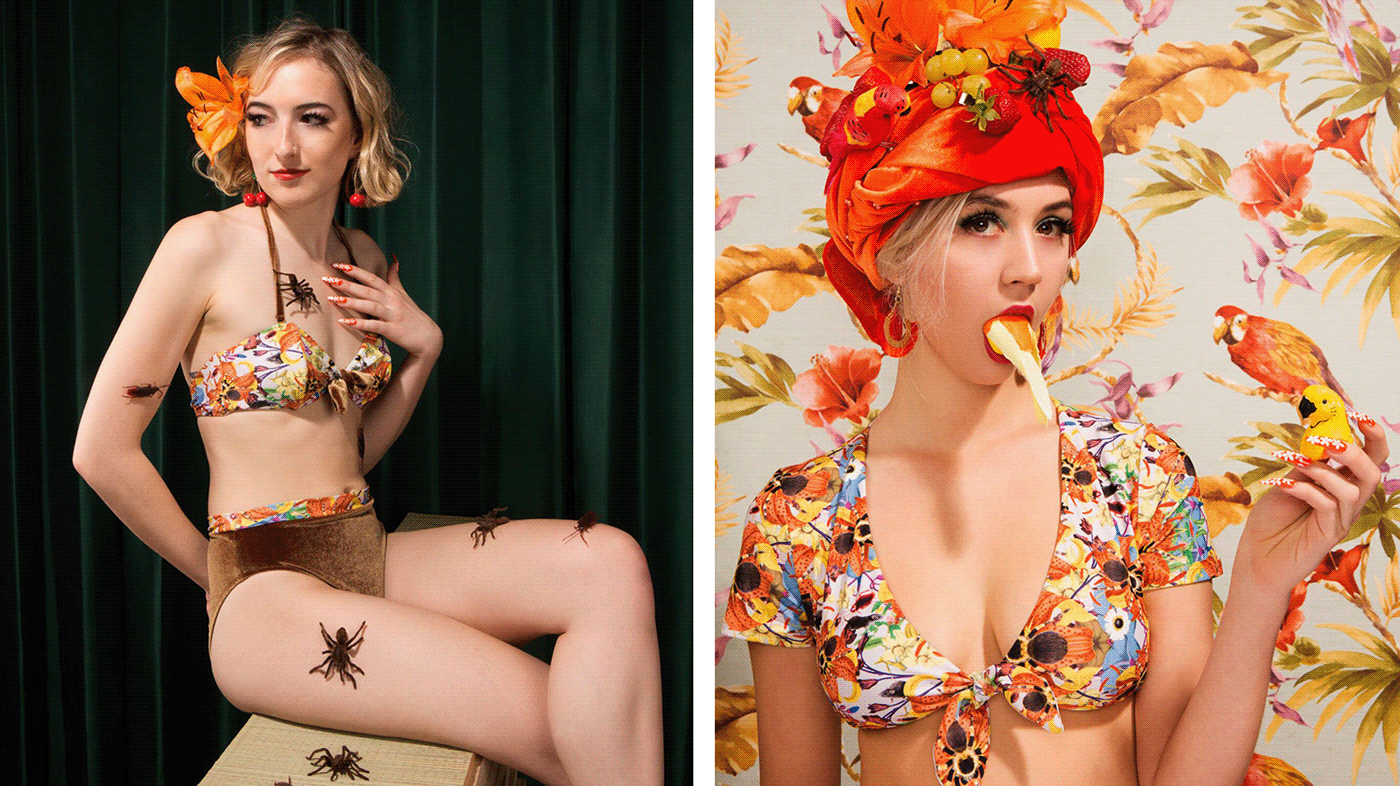 Модные пауки Kore Swim X Sagmeister & Walsh