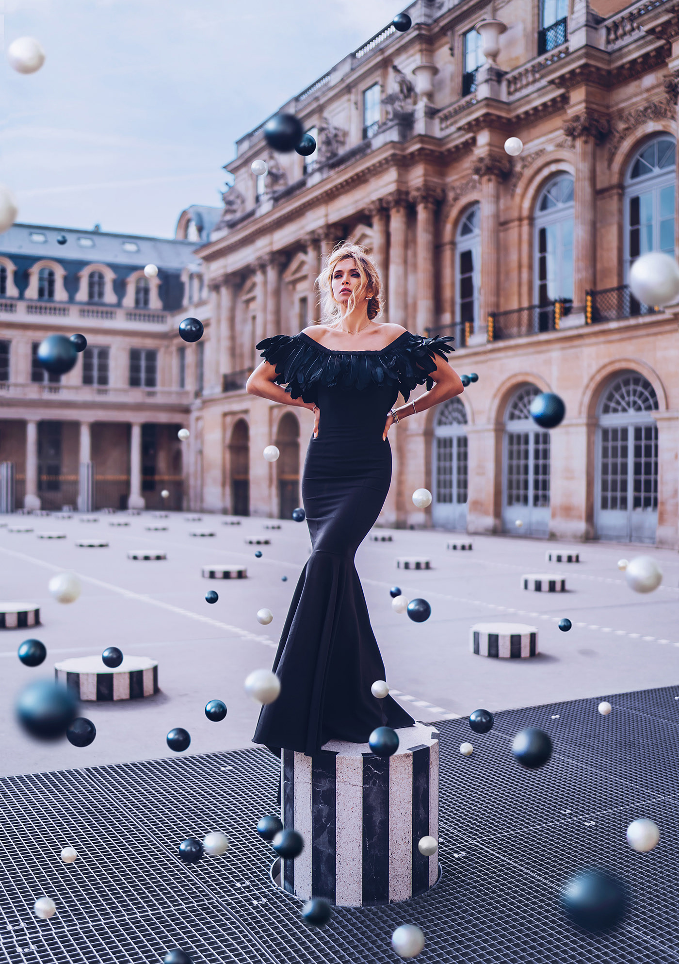 Magic in Paris Campaign for Oh My Look! & G.Bar | Вера Брежнева - фото Кристина Макеева