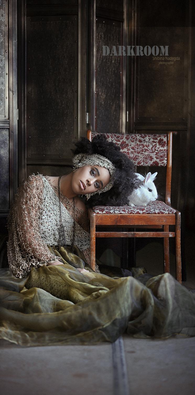 Модель Fantine Pritoula / Фотограф-дизайнер Надежда Шибина