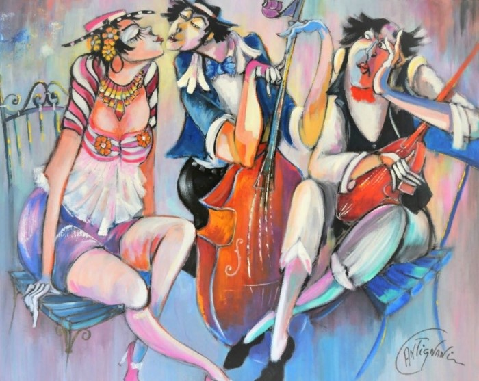 художник Jose Antignani