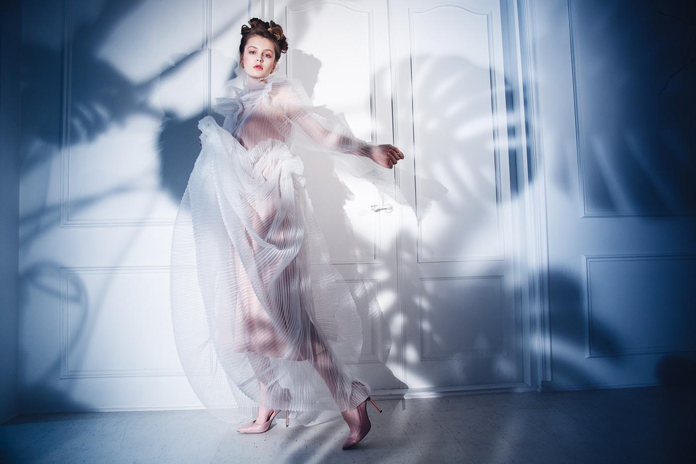 The Blue Melody for Elegant Magazine / фотограф Kseniya Che
