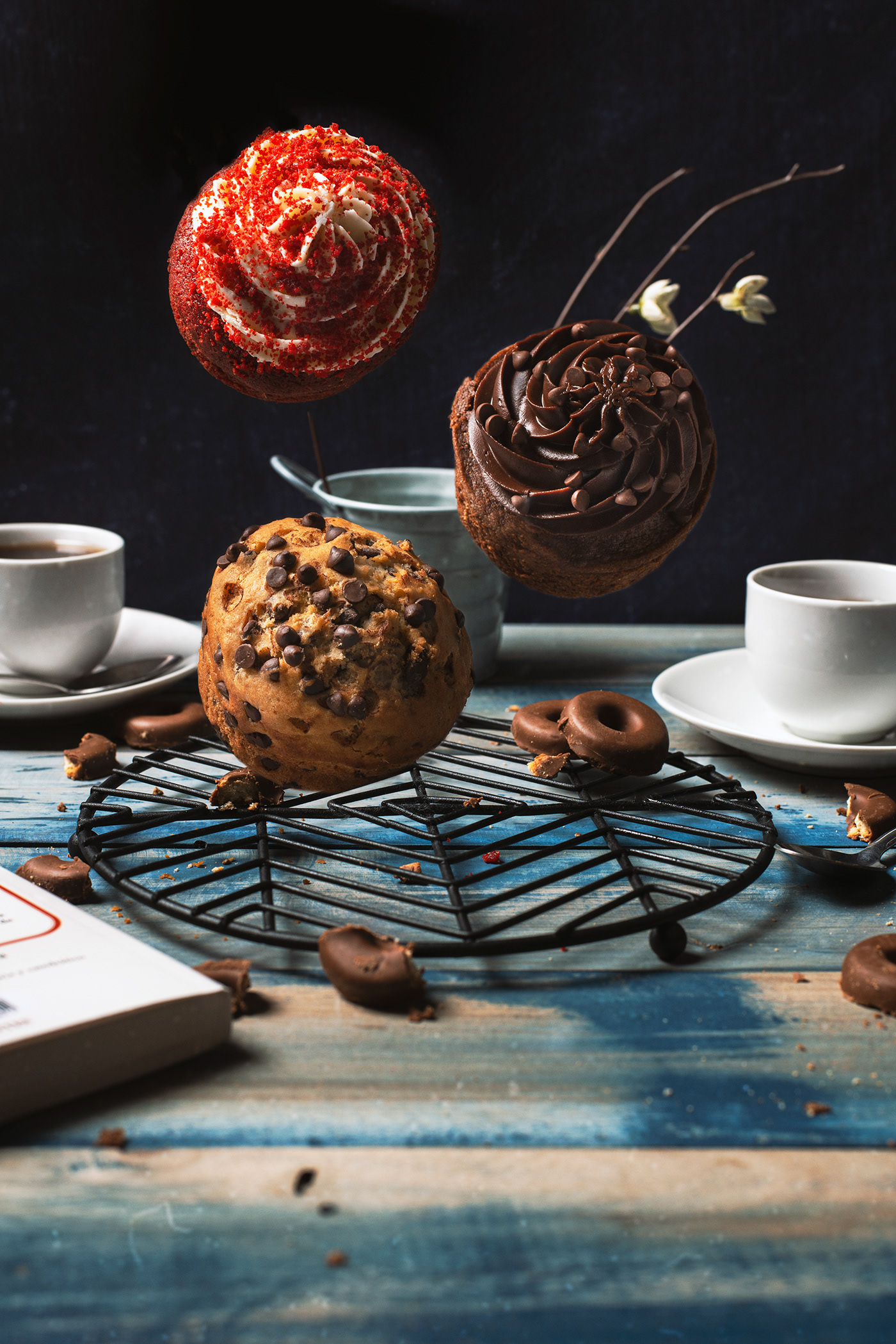 Dulces y chocolate / фотограф Cindy Fernandez