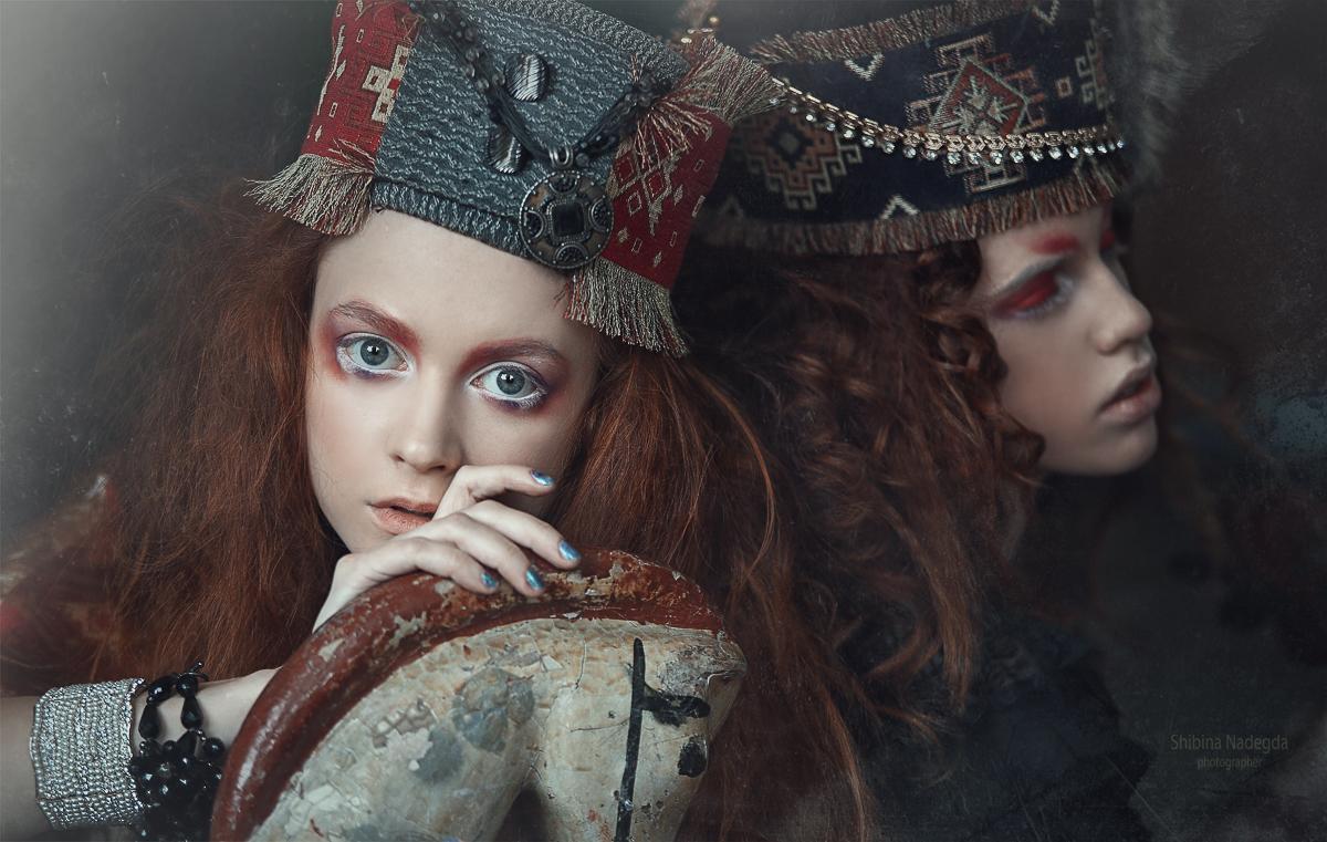 Модели Екатерина, Ева / Фотограф-дизайнер Надежда Шибина