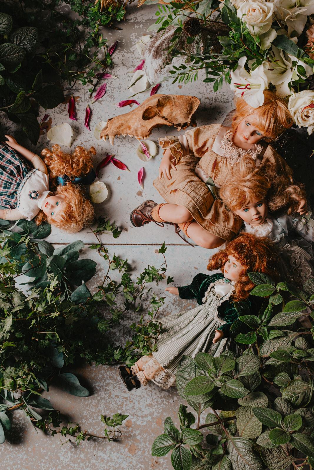 Dolls and cats / фотограф Amalija Andersone