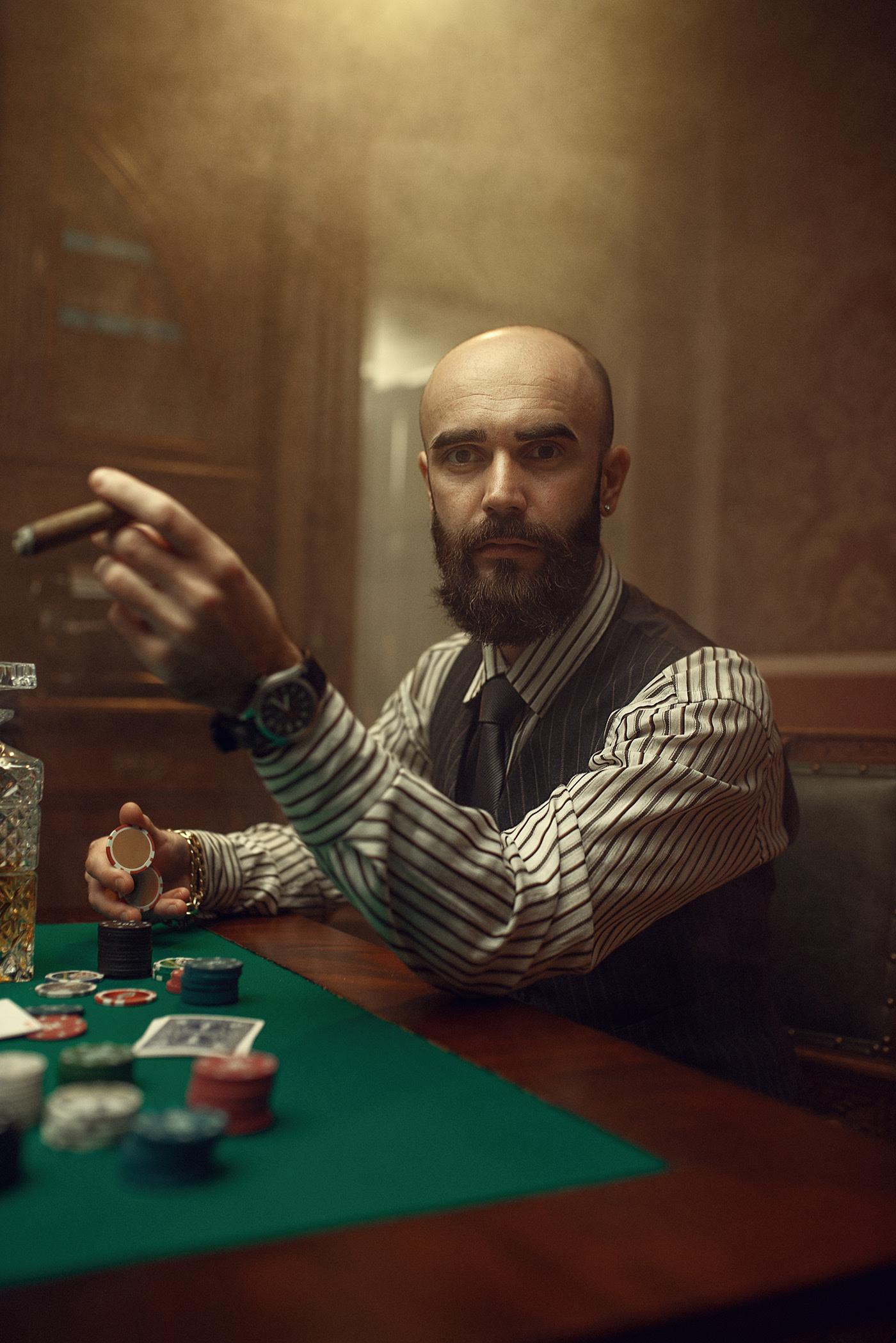 The romance of poker / фотограф Макс Кузин