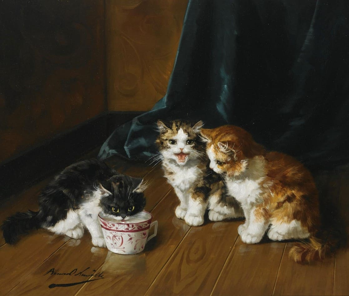 Картины художника Alfred-Arthur Brunel De Neuville