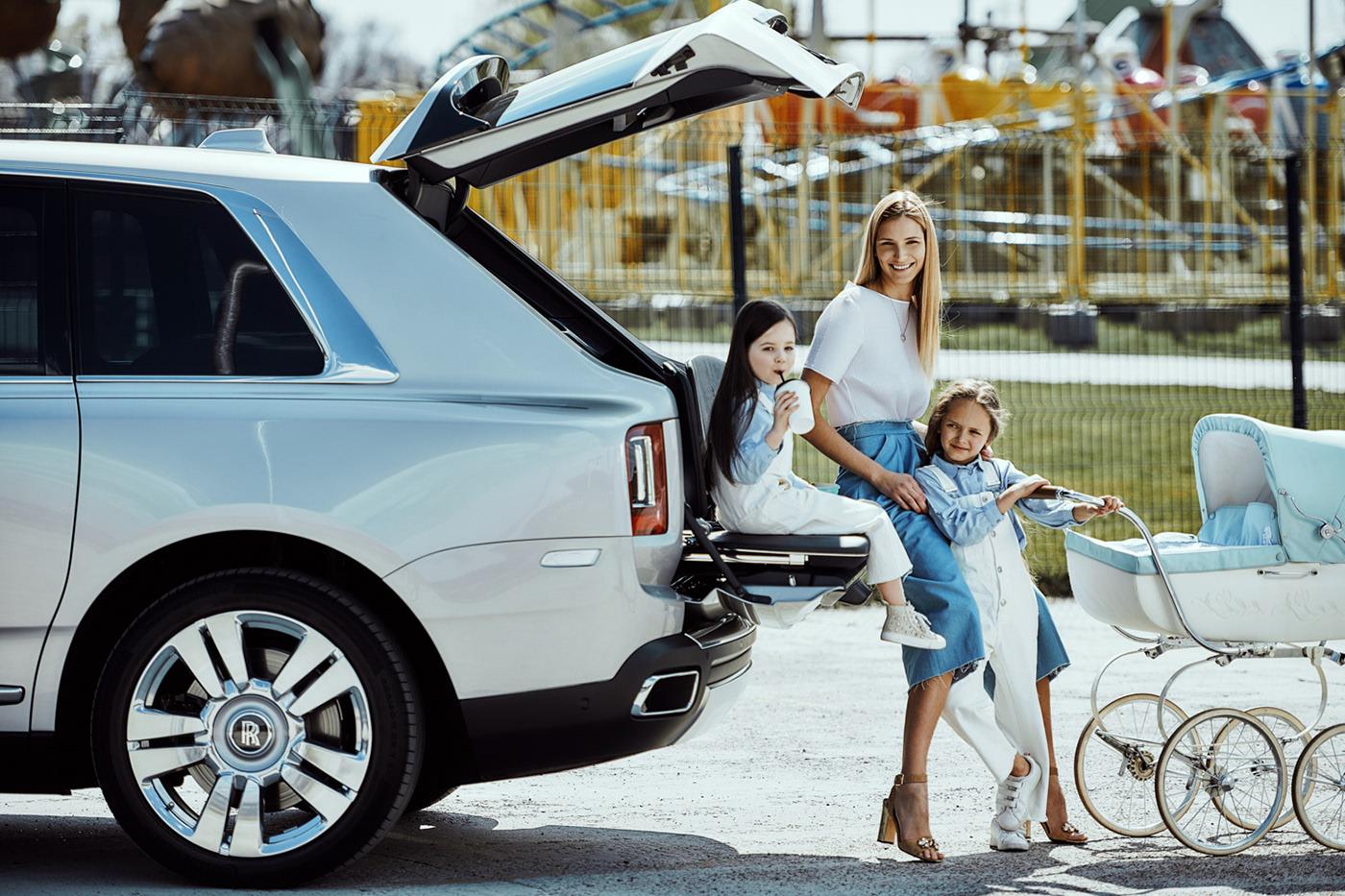 Машина для девочек Rolls Royce Cullinan