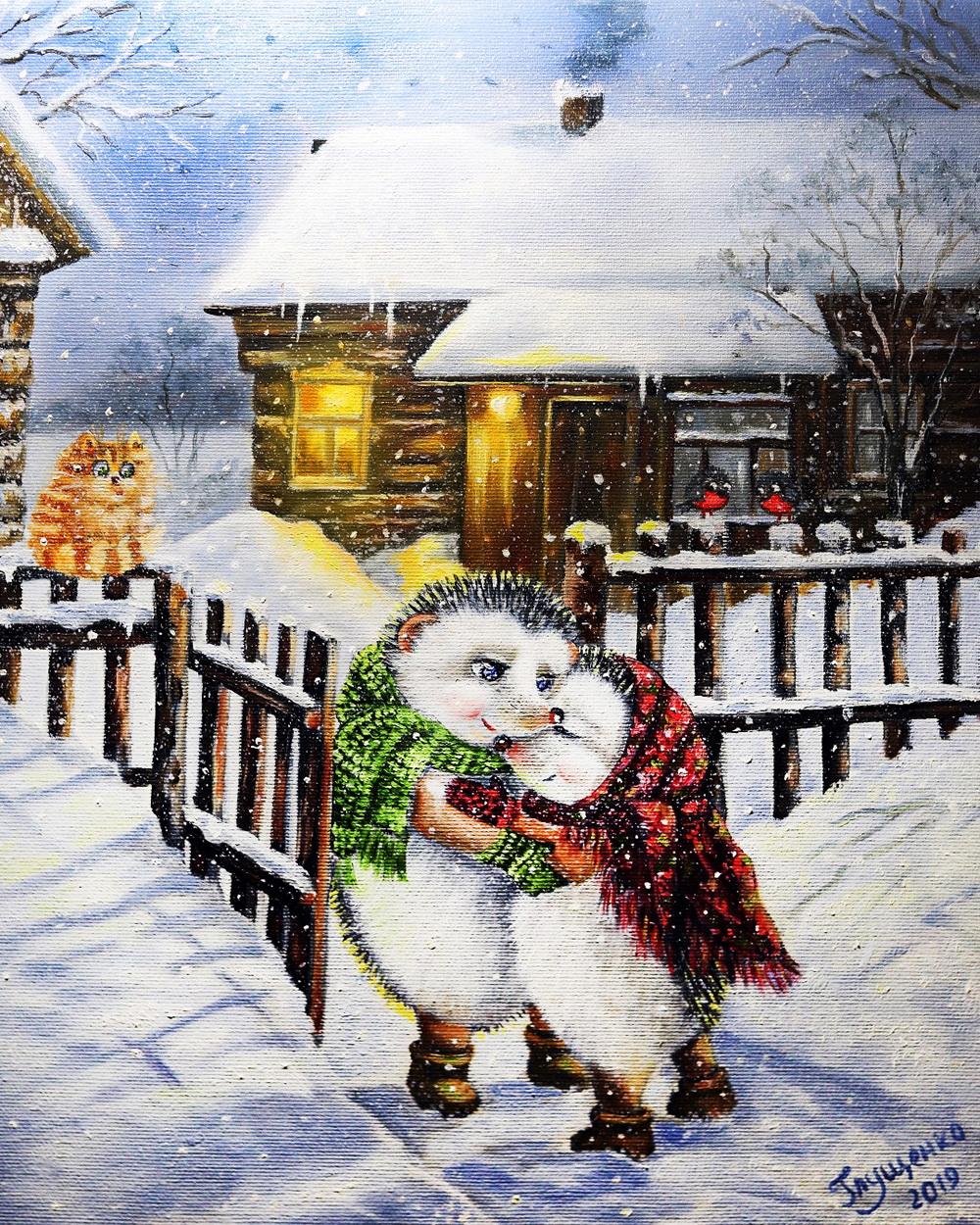 художник иллюстратор Ирина Глущенко