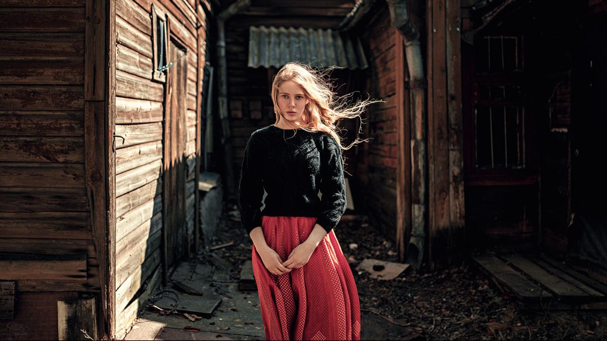 Юля / фотограф Георгий Чернядьев