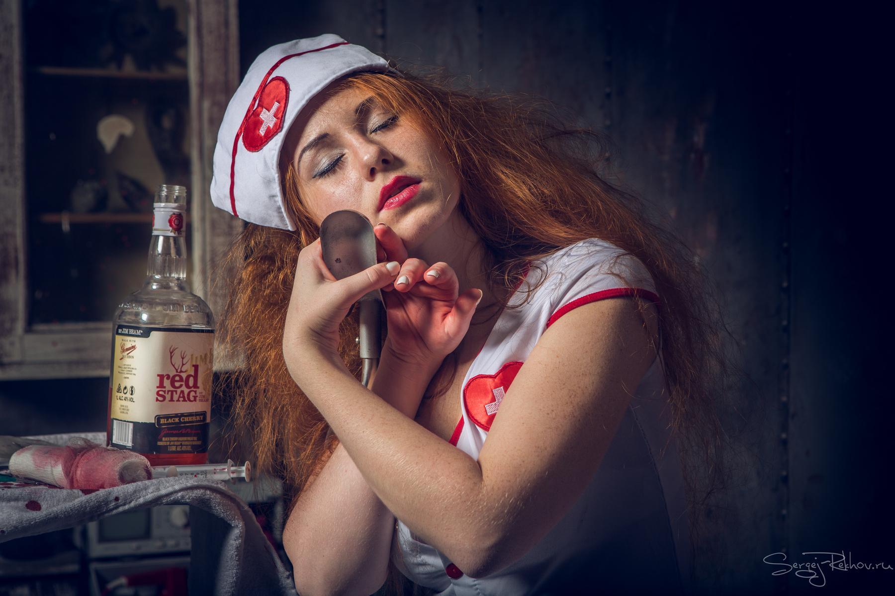 Приключения ночной медсестры / фотограф Рехов Сергей