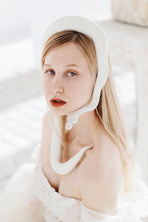 Girl Snake / фотограф Jovana Rikalo