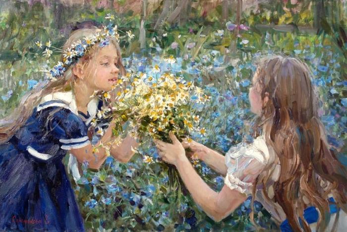 картины Елены Сальниковой