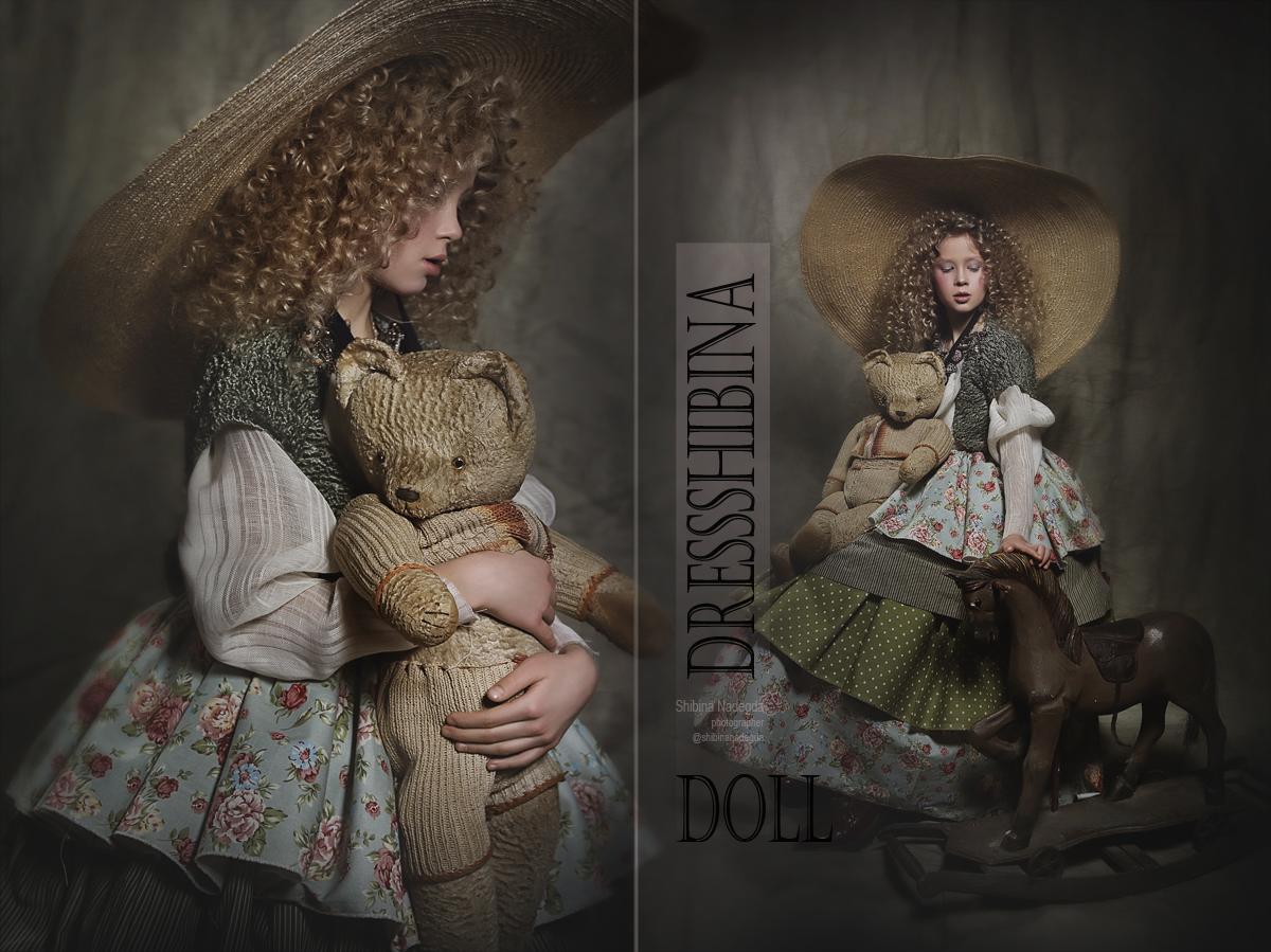 Doll   Фотограф-дизайнер Надежда Шибина