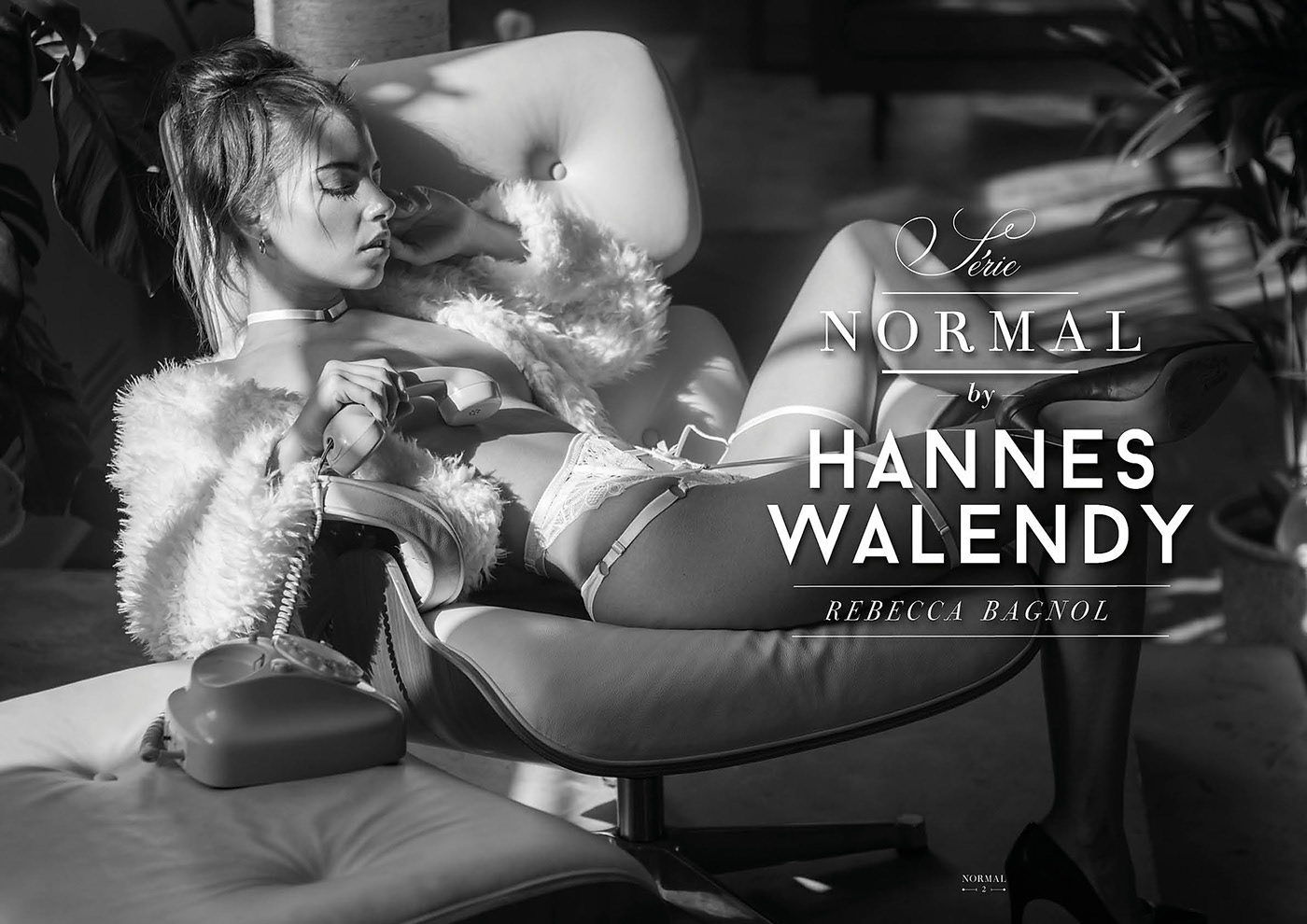 Rebecca Bagnol for Normal Magazine / фотограф Hannes Walendy