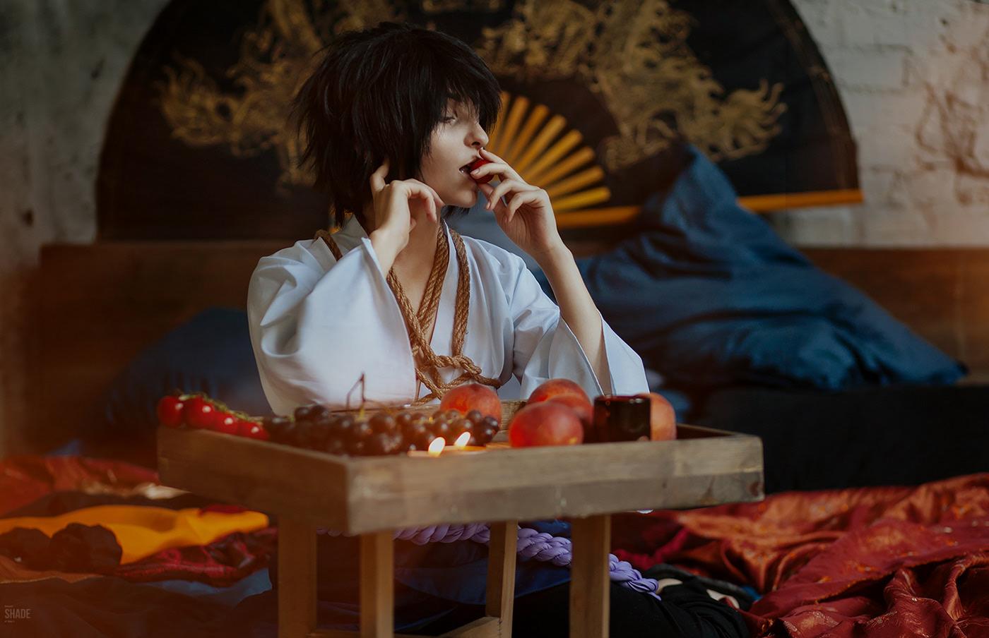 Sasuke, bondage version / фотограф Lina Aster