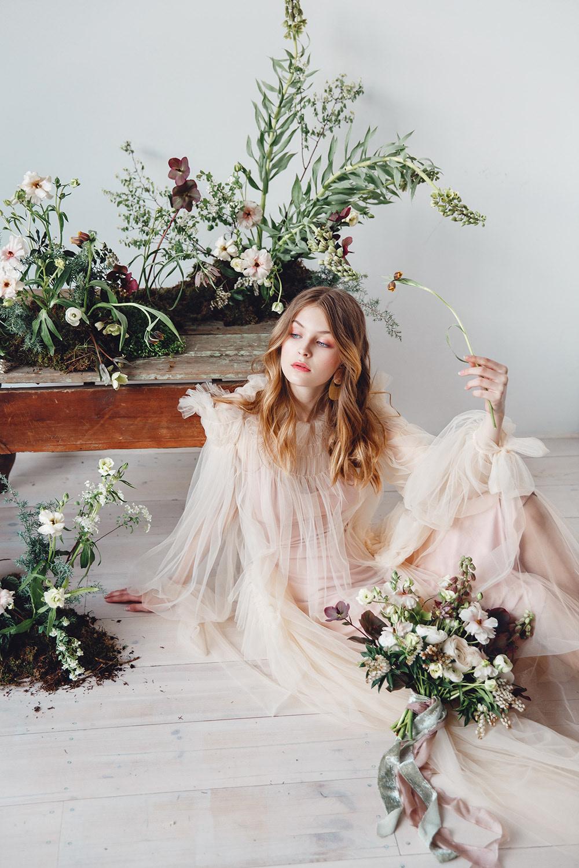 Miss Spring for Ellements Magazine / фотограф Kseniya Che