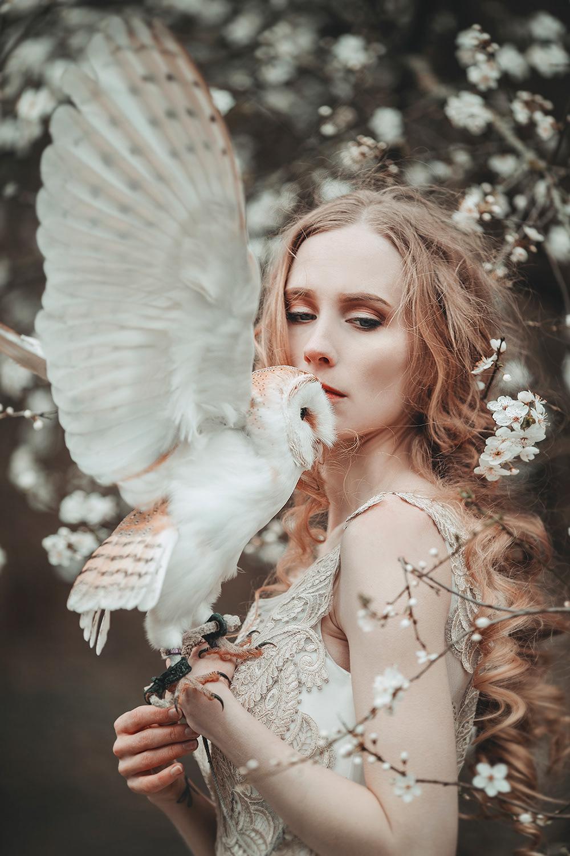 Owl Girl / фотограф Jovana Rikalo