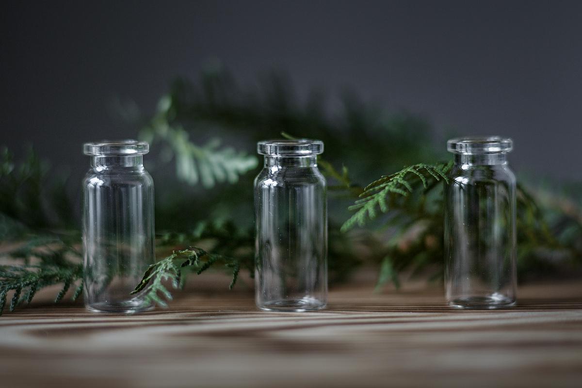Пузырьки с зеленью / фотограф Корнилов Михаил