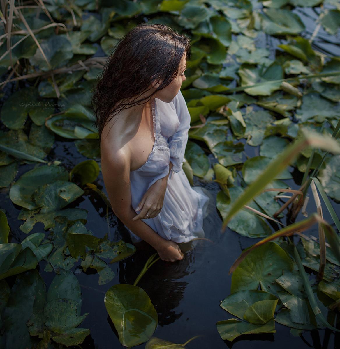 Нимфа / фотограф Ирина Джуль