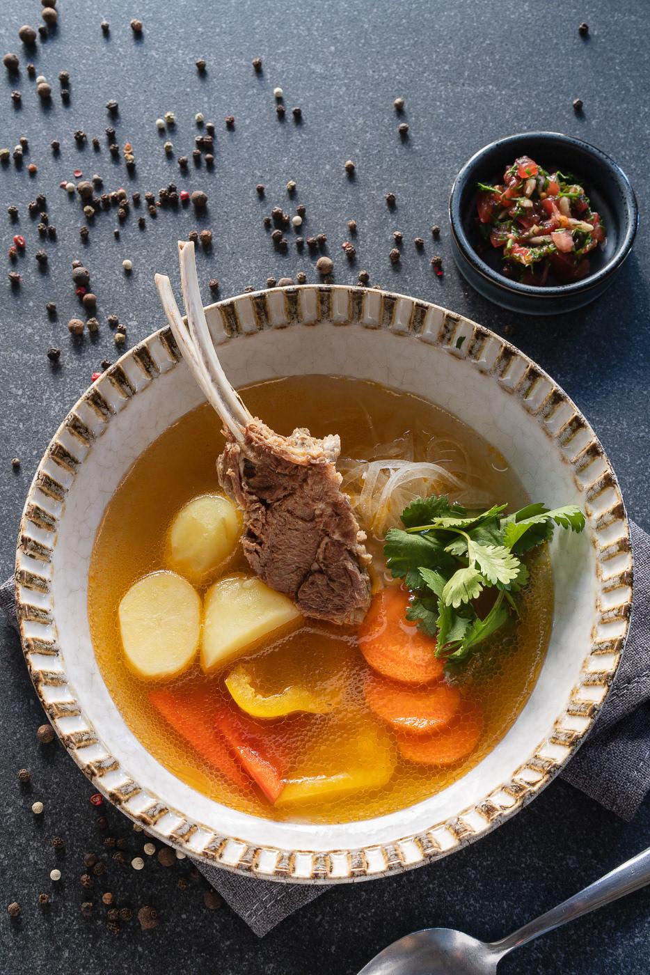 Soup series|| For Eshak menu / фотограф Max Smolyar