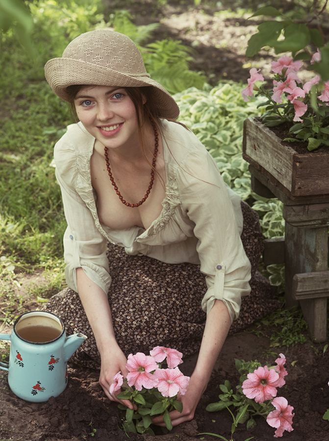 Девушка-Весна / фотограф Давид Дубницкий