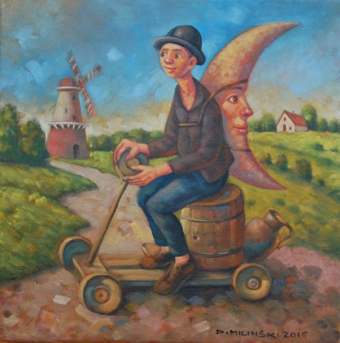 Польский художник Dariusz Milinski